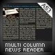 Multi-Column News Reader - ActiveDen Item for Sale