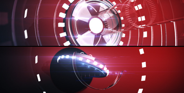 After Effects Project - VideoHive H-Tech Circle Logo Revealer bonus contet  ...