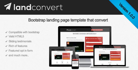 Landconvert multipurpose landing page