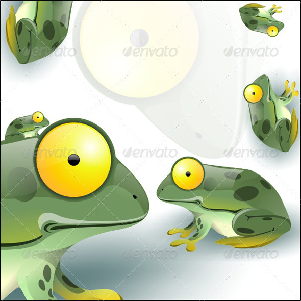 GraphicRiver Funny Frog 3703413