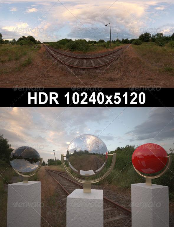 3DOcean HDR 079 Rail Tracks sIBL 3703884