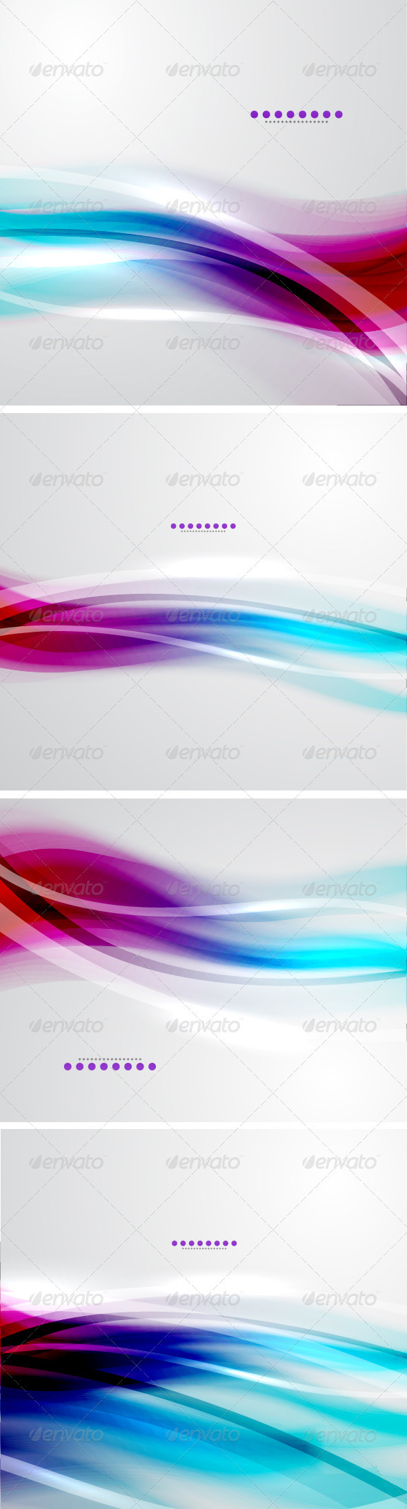 GraphicRiver Vector Soft Light Backgrounds 3704447