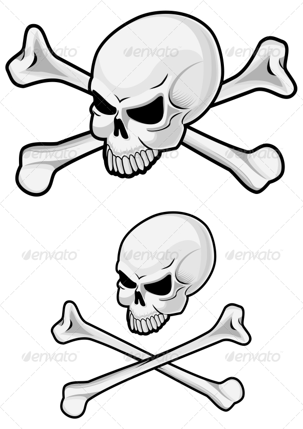 GraphicRiver Danger Skull 3704700
