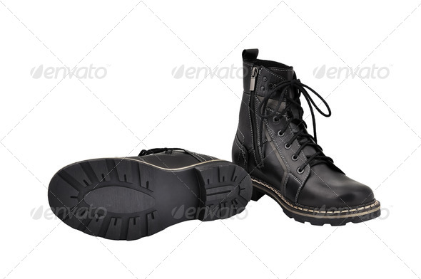 PhotoDune army boots 3706964