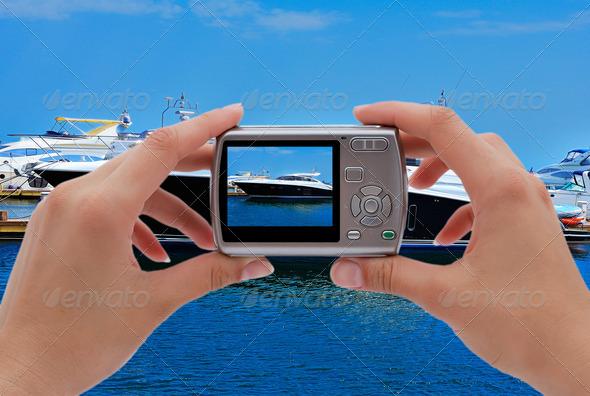 PhotoDune photographing yachts 3706991