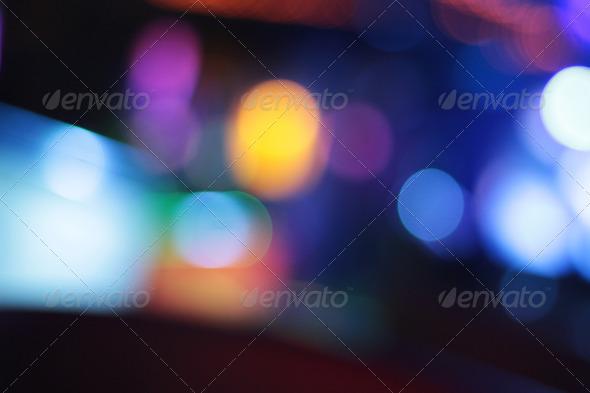 Night Club Lights Background