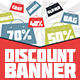 Discount Web Banners - GraphicRiver Item for Sale