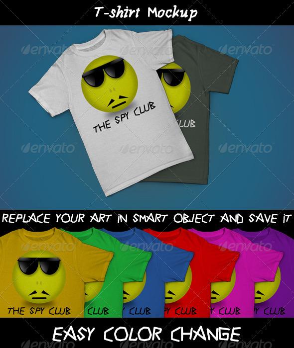 GraphicRiver T-shirt Mockup 3684890