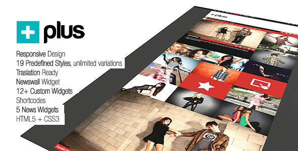 ThemeForest Plus Grid Responsive Multipurpose Magazine 3604440