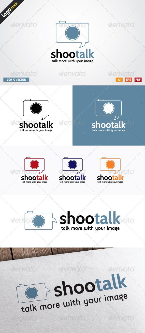 GraphicRiver Shootalk Logo 3666375