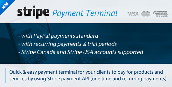 CodeCanyon Stripe Payment Terminal 3710600