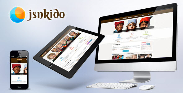 ThemeForest JSN Kido Responsive Theme & VirtueMart support 3461915