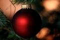 Red Christmas Bulb - PhotoDune Item for Sale