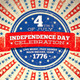 Independence Day Celebration Poster - GraphicRiver Item for Sale