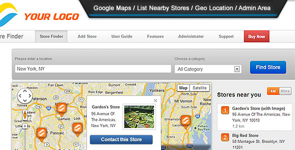 CodeCanyon Super Store Finder 3630922