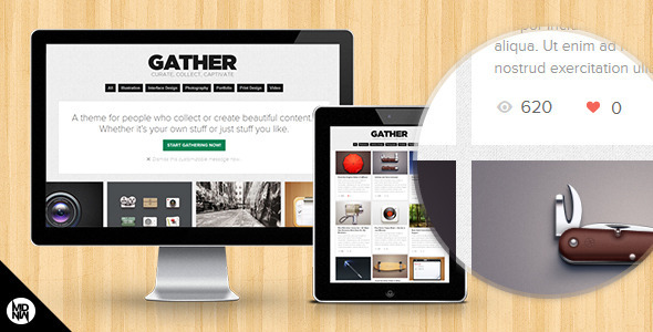 ThemeForest Gather For Collectors & Creators 3714956