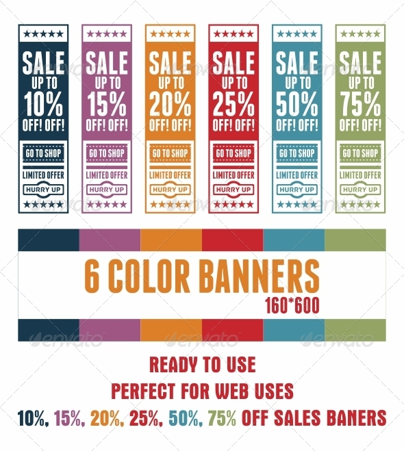 GraphicRiver Limited Sale Offer Banners 3653725
