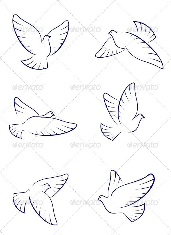 GraphicRiver White Doves 3714999