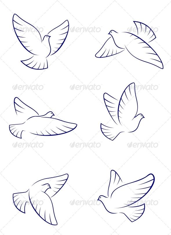 GraphicRiver White Doves 3714999