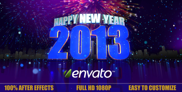 VideoHive New Year Intro 3693273