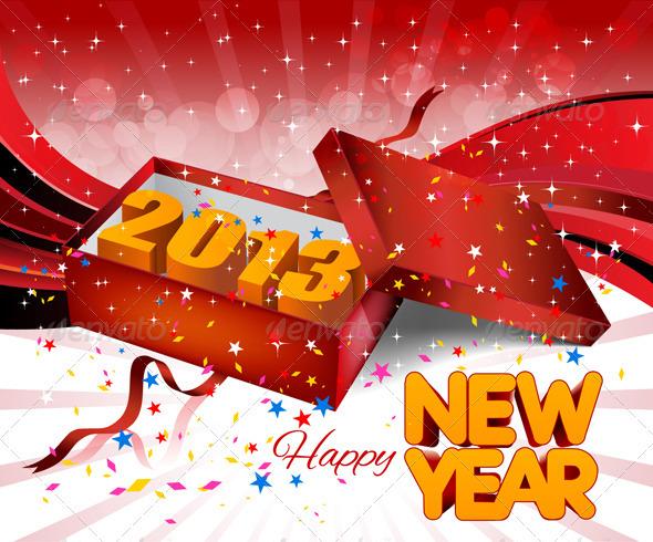 GraphicRiver 2013 Gift Box 3715048