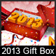 2013 Gift Box - GraphicRiver Item for Sale