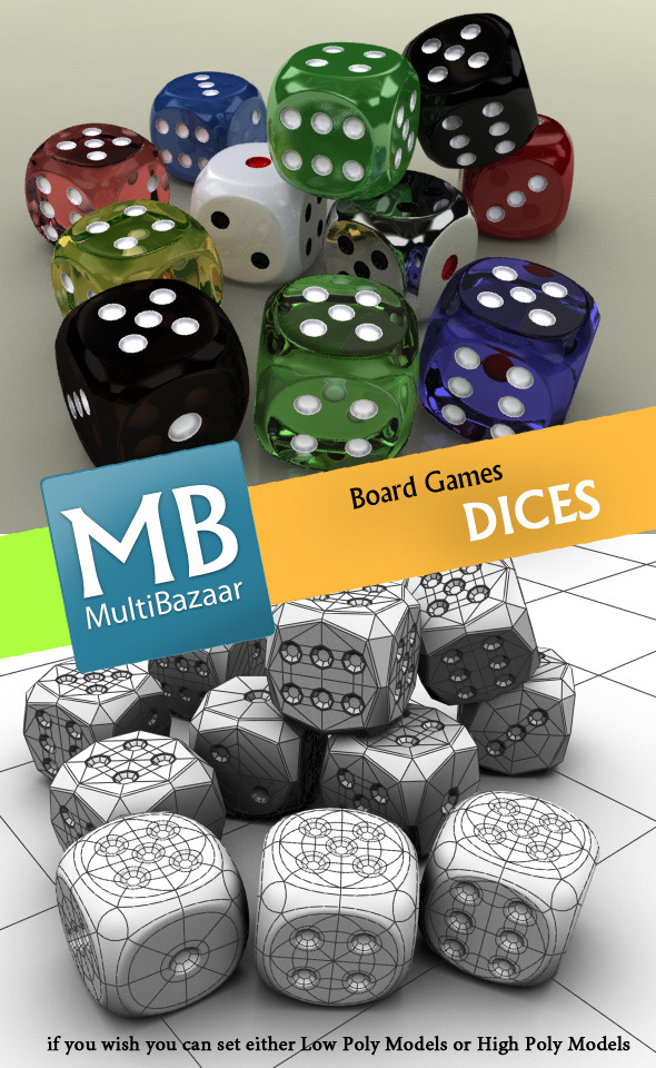 mbDices - 3DOcean Item for Sale