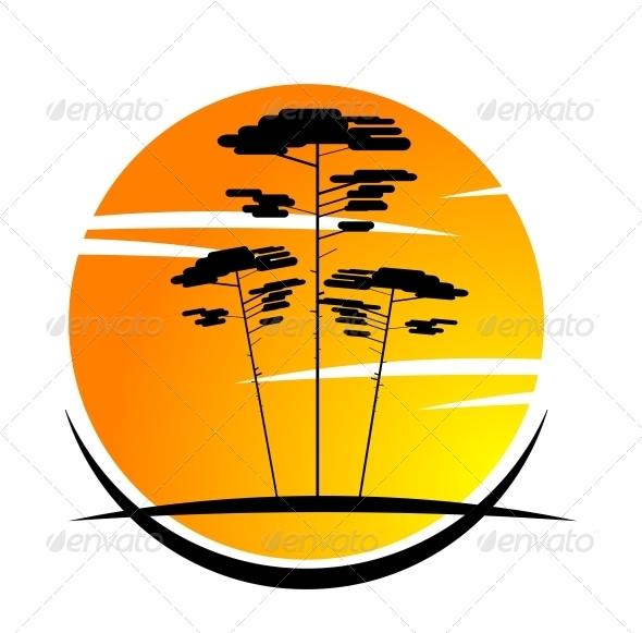 GraphicRiver Nature Symbol 3715312