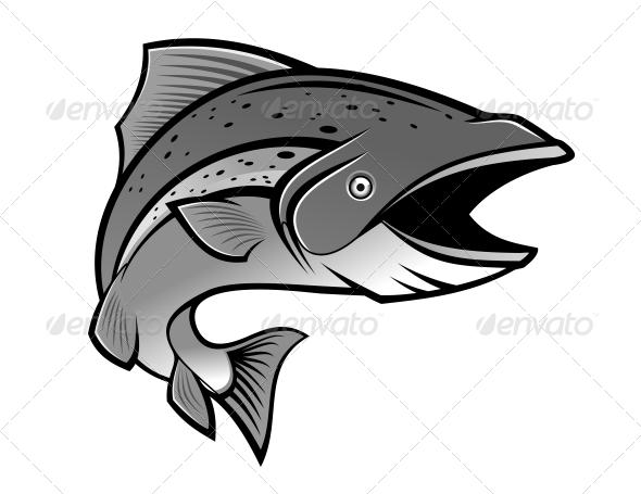 Fishing Symbol - Animals Characters