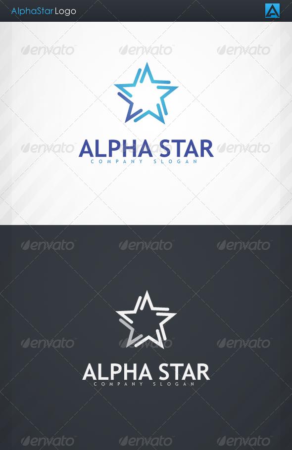 GraphicRiver AlphaStar Logo 3374473