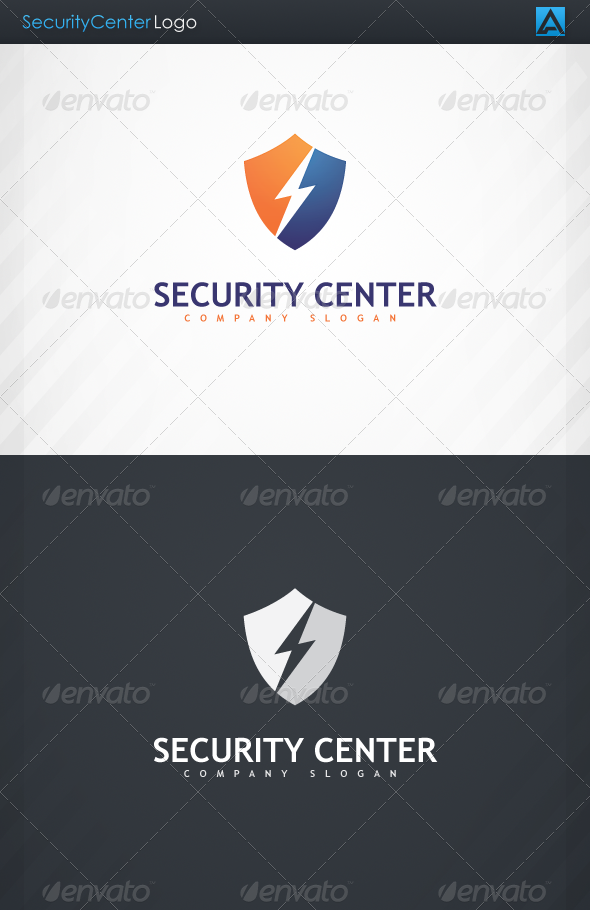 GraphicRiver SecurityCenter Logo 3374519