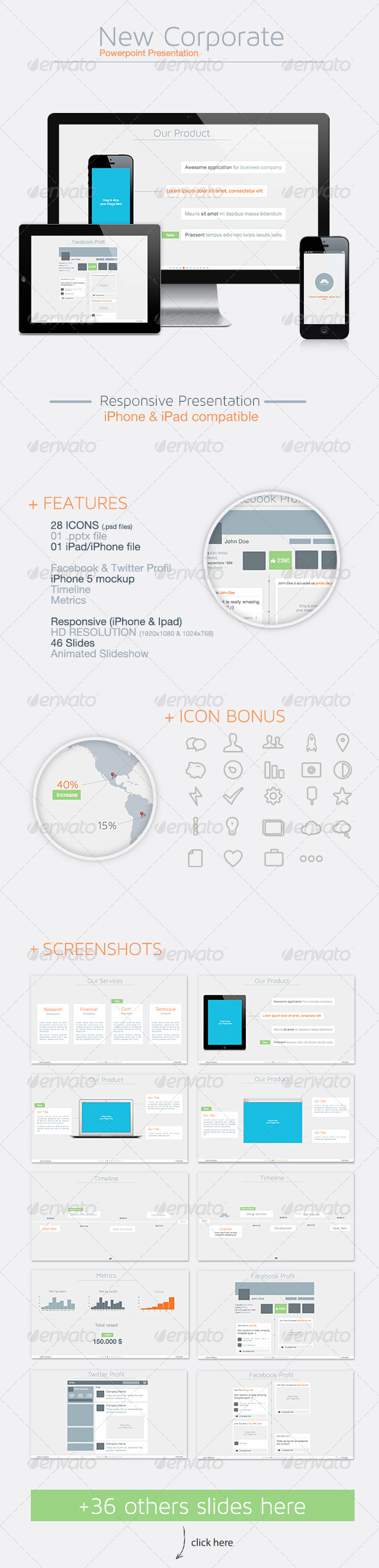 GraphicRiver New Corporate Powerpoint Presentation 3716077