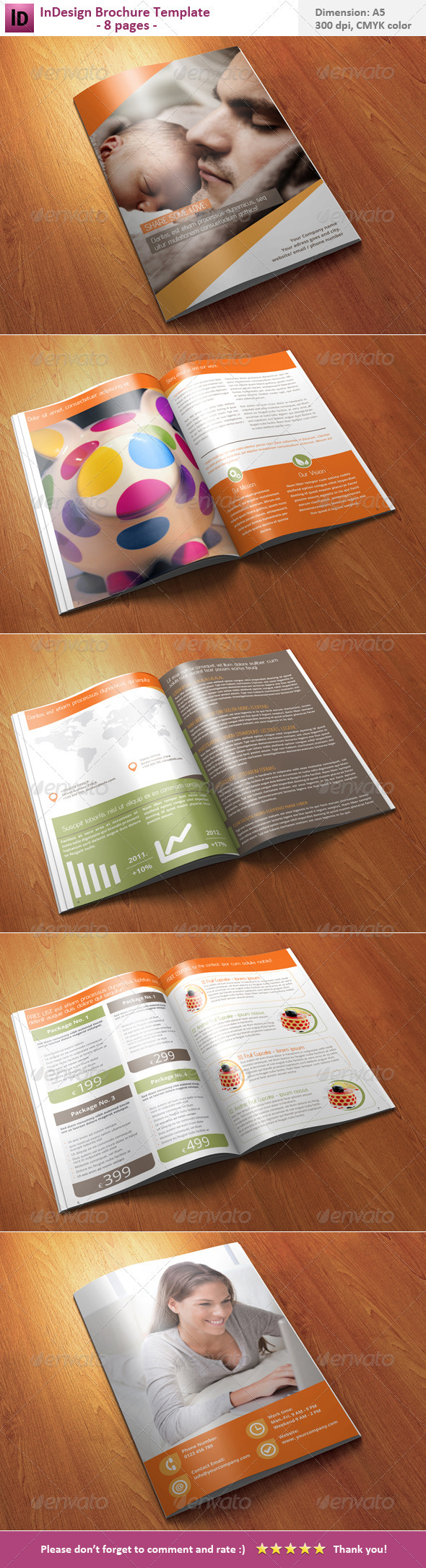 GraphicRiver InDesign Brochure Template 8 pages 3644215