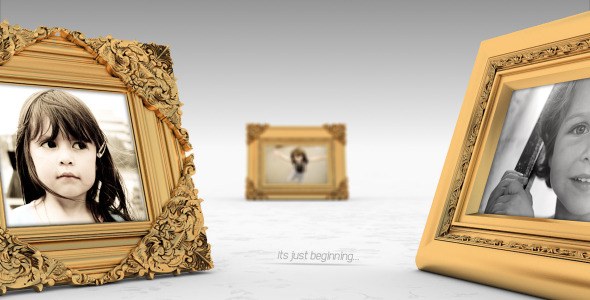 VideoHive Royal Frames Photo Gallery 3716205