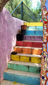 Rainbow Colored Staircase - PhotoDune Item for Sale