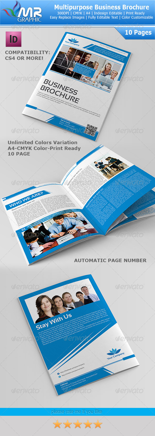 GraphicRiver 10 Page Multipurpose Business Brochure 3647028
