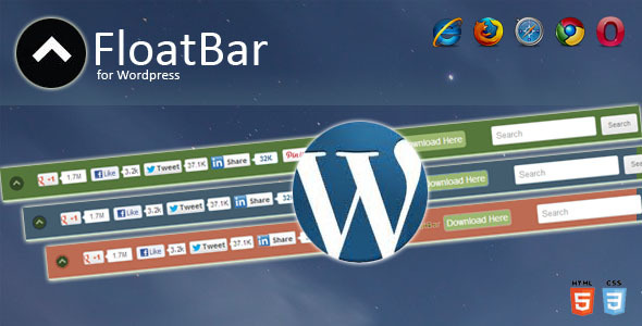 CodeCanyon FloatBar for Wordpress 3716646