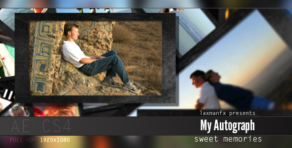 VideoHive My Autograph 3700729
