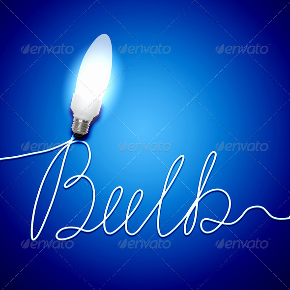 PhotoDune Ecology bulb light 3717445