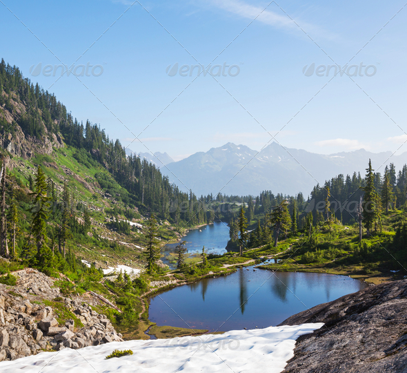 Mt.Baker area - Stock Photo - Images