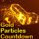 Gold Particles Countdown - VideoHive Item for Sale