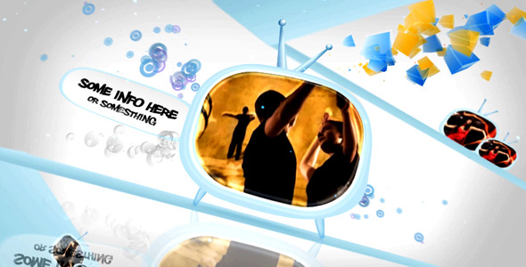 After Effects Project - VideoHive Funky TV world 400118