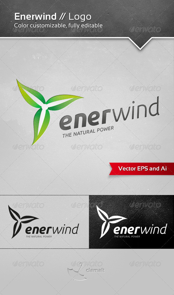 GraphicRiver Enerwind Logo 3719529