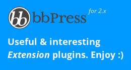 bbPress Plugins
