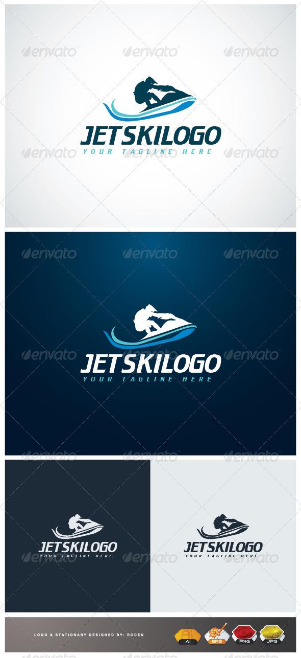GraphicRiver Jet Ski Logo 3671544