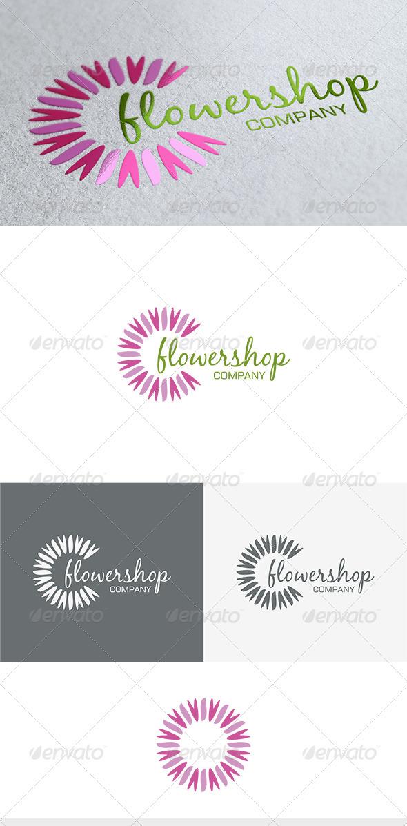 GraphicRiver Flower Shop Logo 3675769