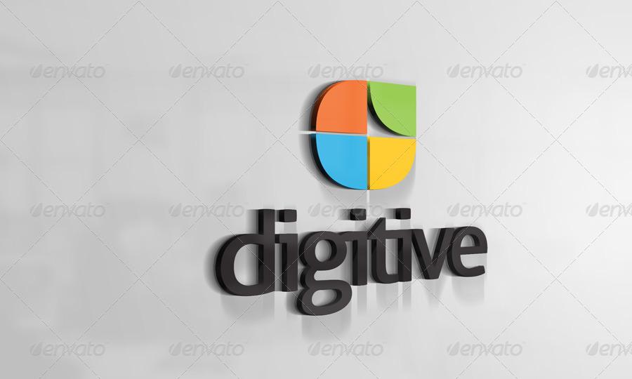 3D Logo Mockups V3 By CodeID GraphicRiver