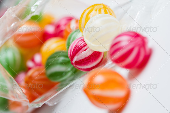 PhotoDune colorful round candies 3720362