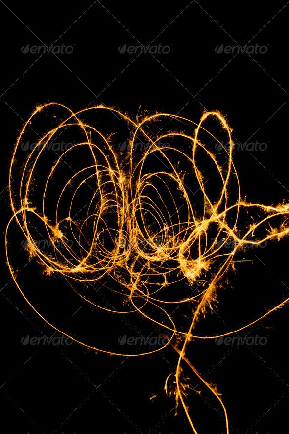 PhotoDune sparkler lines 3720392