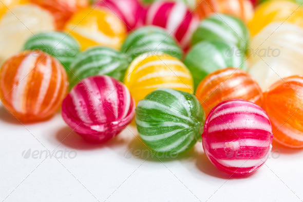 PhotoDune colorful round candies 3720393